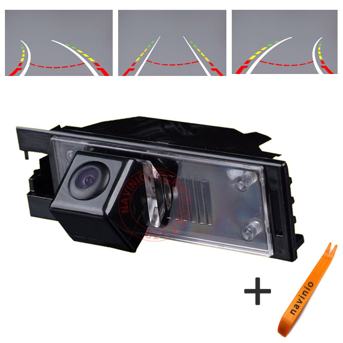 CCD car track Camera Directive Parking Assistance For HYUNDAI IX35 TUCSON Car Rear View Back Up Reversing Trajectory waterproof
