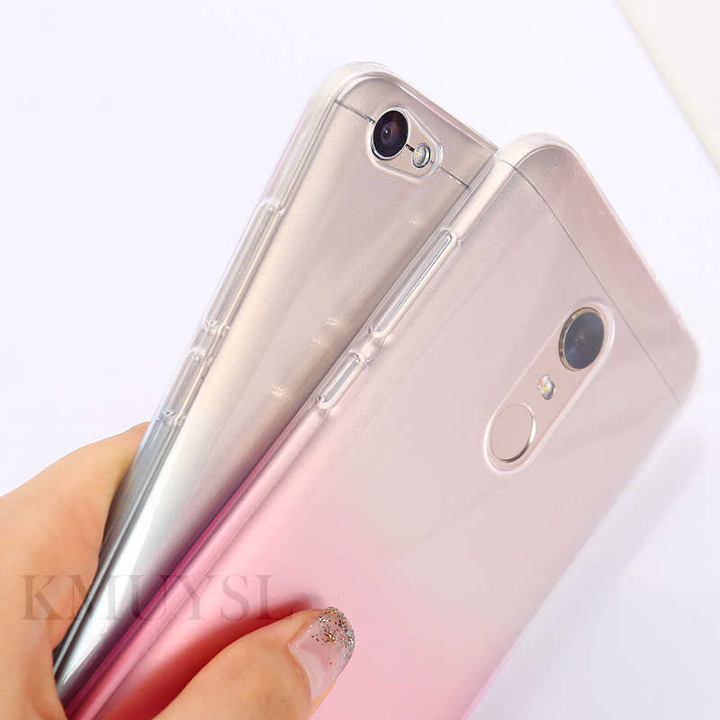 Gradient Bunte Fällen Für Xiao mi mi 8 6X A2 5X A1 6 mi x 2 2 s Hinweis 3 rot mi 5 Plus 4 6A 6 Pro 4A Hinweis 4 4X 5A Prime Telefon Shell