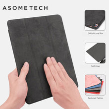 Ultra Slim Smart Cover Protective Trid-Fold Stand Leather Case W/ Pencil Holder For Apple