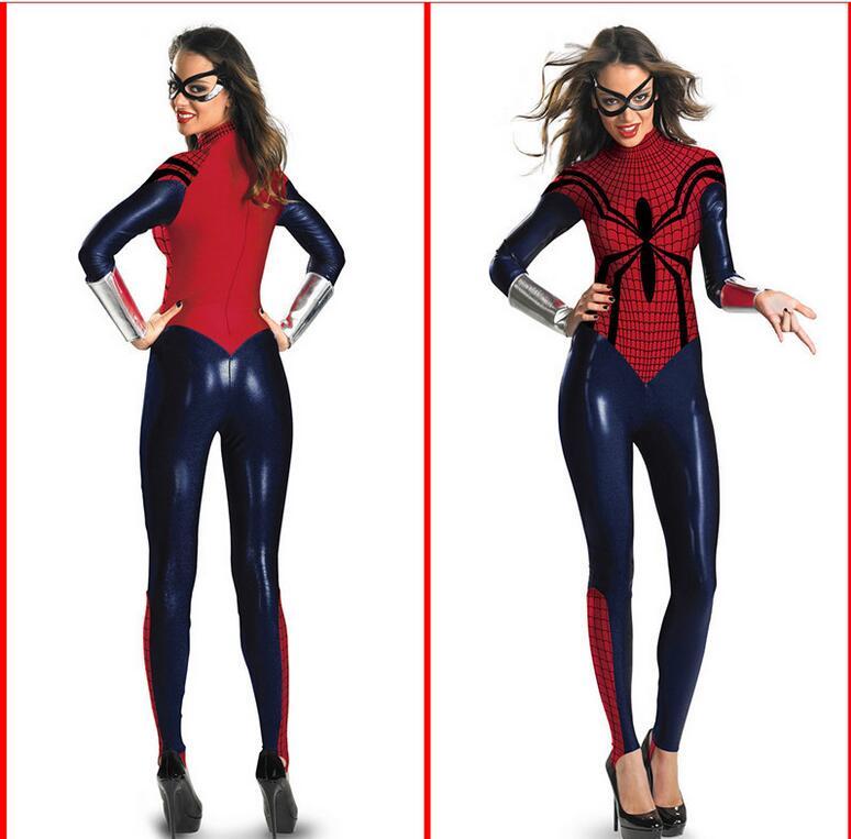 spiderman halloween costumes achetez des lots petit prix spiderman halloween costumes en. Black Bedroom Furniture Sets. Home Design Ideas