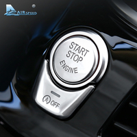Airspeed For BMW 5 Series G30 528i 530i 540i Car Engine Start Stop Button Cover ABS
