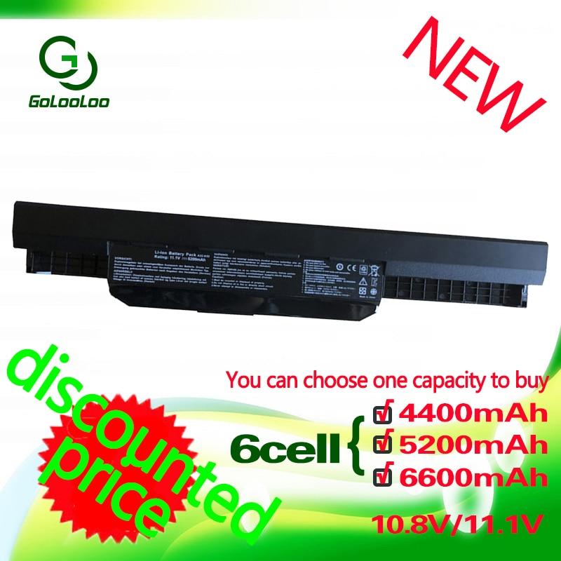 Golooloo 4400MaH Battery for Asus K53S A32-K53 K53U A43 A53S A53 A53z A53SV K43S K43 K43E K43J K43SV K53t K53SD K53S K53SV x54hGolooloo 4400MaH Battery for Asus K53S A32-K53 K53U A43 A53S A53 A53z A53SV K43S K43 K43E K43J K43SV K53t K53SD K53S K53SV x54h