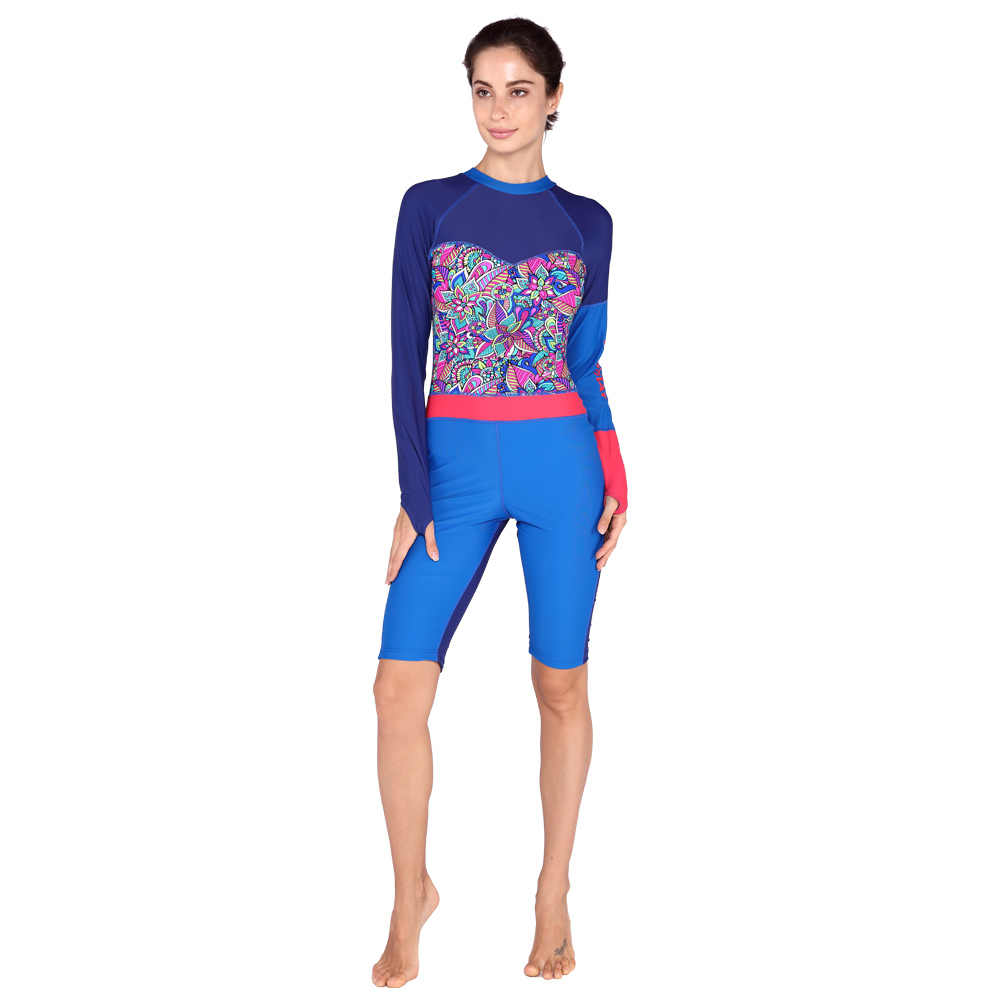 Vrouwen Professionele Strand Duikpak Wetsuit Elastische Badmode Plus Size Surfen Pak Dame Zonnebrandcrème Een Stuk Wetsuits Rashguard