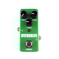 Overdrive Guitar Effects Mini Effect Pedal Drive Level Tone Control Ture Bypass Kakko