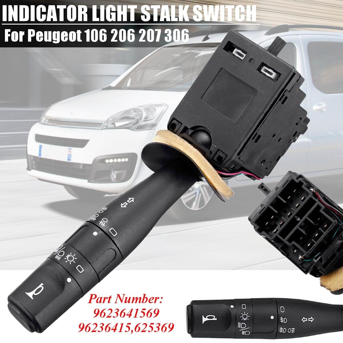 PEUGEOT 206 406 605 806 INDICATOR LIGHT STALK COLUMN SWITCH 625367 625368