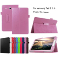 Высокое Качество Смарт PU Кожаный Чехол для Samsung Galaxy Tab E 9.6 T560 T561 Tablet Case Tablet Тонкий Защитной оболочки