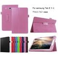 Top qualidade capa de couro pu inteligente para samsung galaxy tab e 9.6 t560 t561 tablet case tablet escudo protetor fino