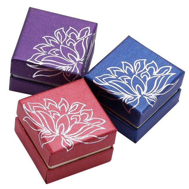 35PCS Gold lotus jewelry box jewelry box bangle bracelet pendant