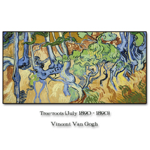 Tree Roots by Vincent Van Gogh Wall Pictures Poster Print Canvas Painting Calligraphy Decor for Living Room Bedroom Home