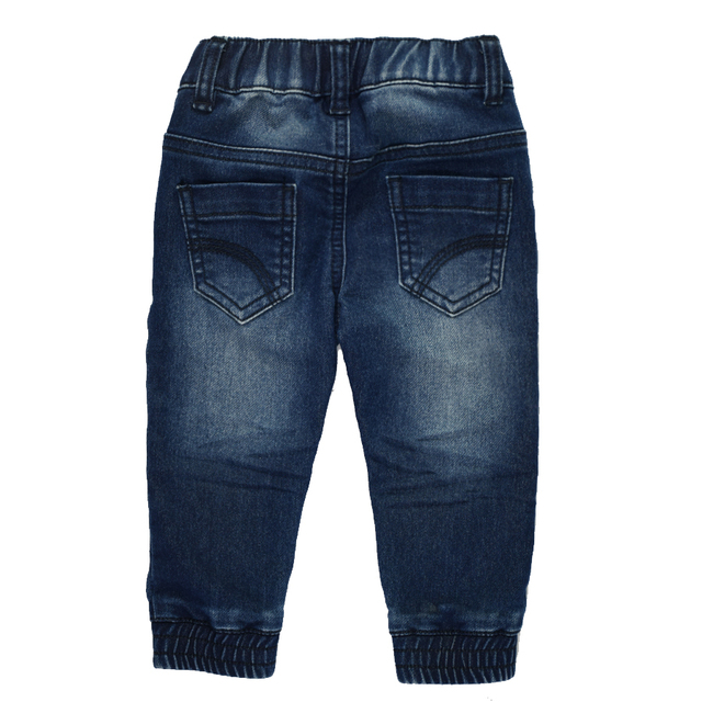 HE Hello Enjoy Baby Boys Girls Denim Jeans Pants Newborn Harem Pants Toddler Kid Stretch Solid Trousers Children Clothing 0-24M