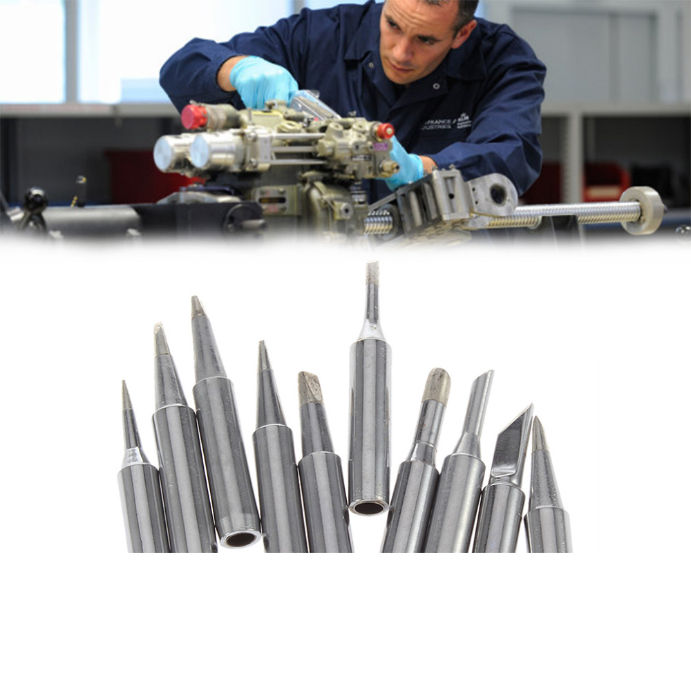 free shipping 10pcs set lead free solder screwdriver iron tip 900m t for hakko soldering rework. Black Bedroom Furniture Sets. Home Design Ideas
