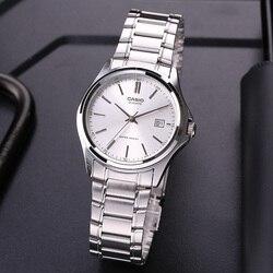 Casio Watch ouble 11 Steel Pointer Simple Business Calendar Men's Watch MTP-1183A-7A