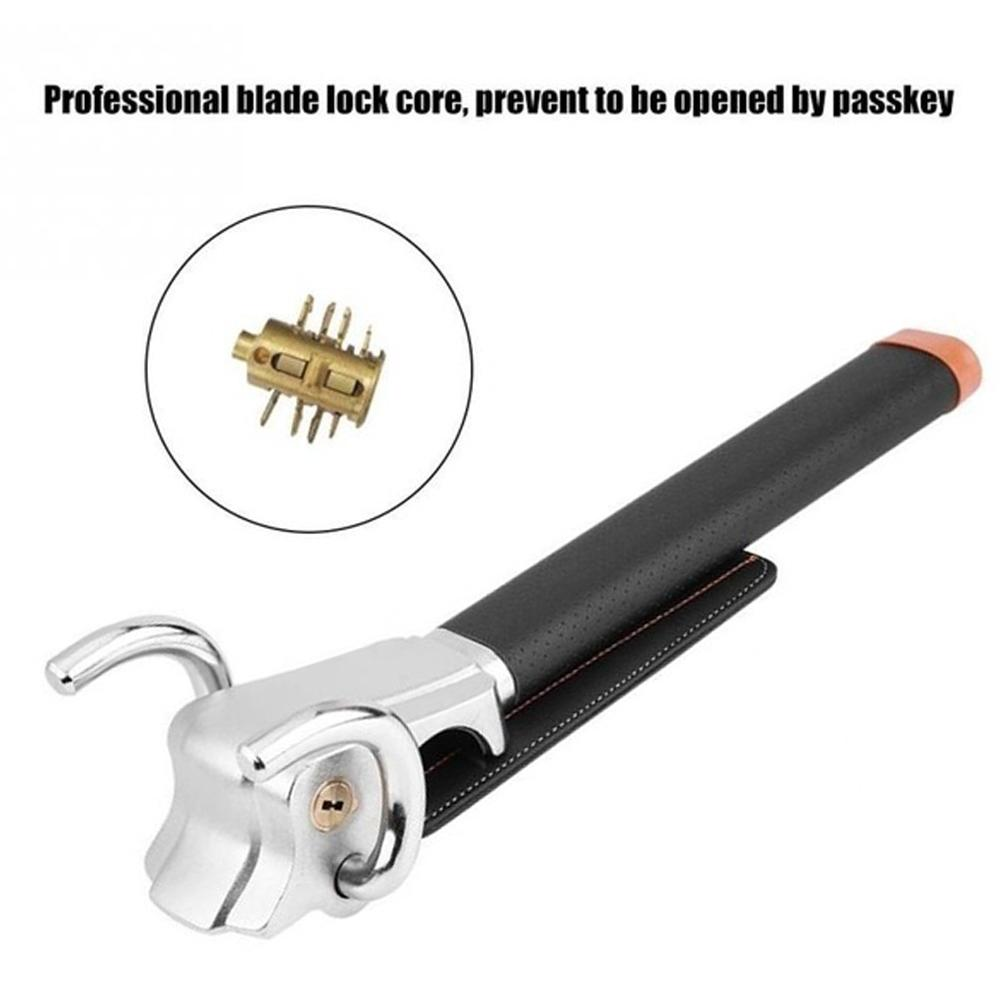 Vehicle Car Lock Top Mount Steering Wheel Lock Anti Theft Security Airbag Lock With Keys Anti-Theft Devices Car Lock