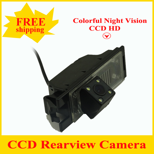 Factory Promotion HD CCD Car Rear View Camera Reverse backup Camera for Hyundai IX35 with wide viewing angle Free shipping in Vehicle Camera from Automobiles Motorcycles