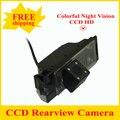 Promoción de La fábrica HD CCD Cámara de Visión Trasera Inversa Cámara de reserva para Hyundai IX35 con amplio ángulo de visión + Free gratis