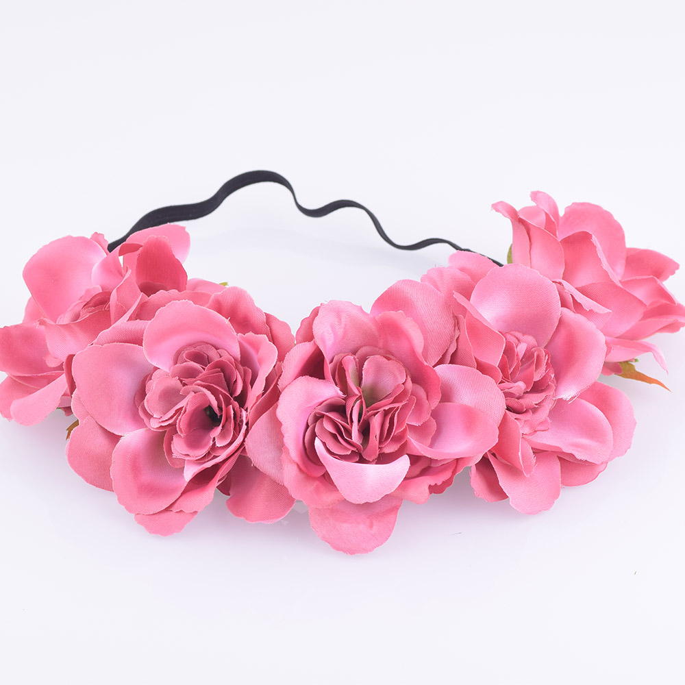Cxadditions fabric peony flower headband headwrap easter flower cxadditions fabric peony flower headband headwrap easter flower crown hair accessories bands floral crown wreath wedding girl in hair accessories from izmirmasajfo