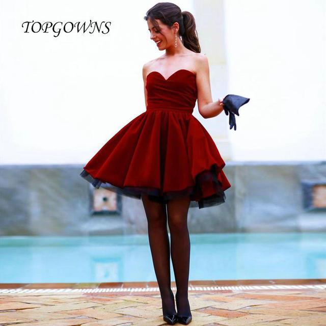 Robe Soiree Rouge Soiree Mini Rouge Mini De De Robe Robe De Soiree 05zzaTW71