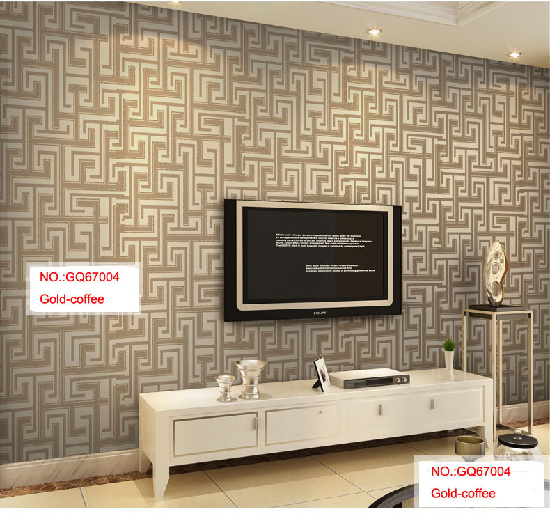 ФОТО Sago wallpaper chinese style brief wallpaper non-woven wallpaper print wallpaper gq670