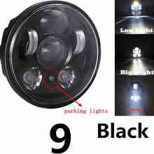 "For Street Triple 5.75"" LED headlight Motor motorcycle headlamp assembly for Triumph Speed,T509, 955, Rocket 3 Headlights(China)"