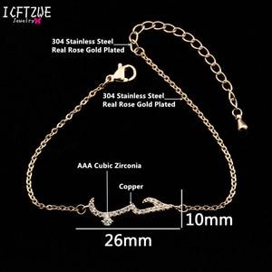 Image 5 - Fashion Stainless Steel Gold Bracelet For Women Arabic Islam Boho Jewelry  Saudi Hand Chain Statement Bracelet Christmas Gift