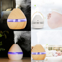 300ml Incense Holder Home Air Aroma Essential Oil Diffuser LED Ultrasonic Humidifier