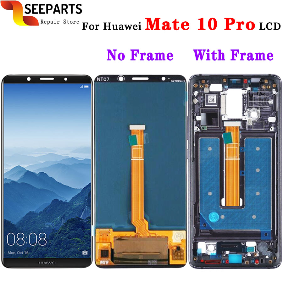 Original Huawei Mate 10 Pro LCD Display Touch Screen Digitizer Assembly With Frame Replacement 6.0 Huawei Mate 10Pro LCD+ToolsOriginal Huawei Mate 10 Pro LCD Display Touch Screen Digitizer Assembly With Frame Replacement 6.0 Huawei Mate 10Pro LCD+Tools