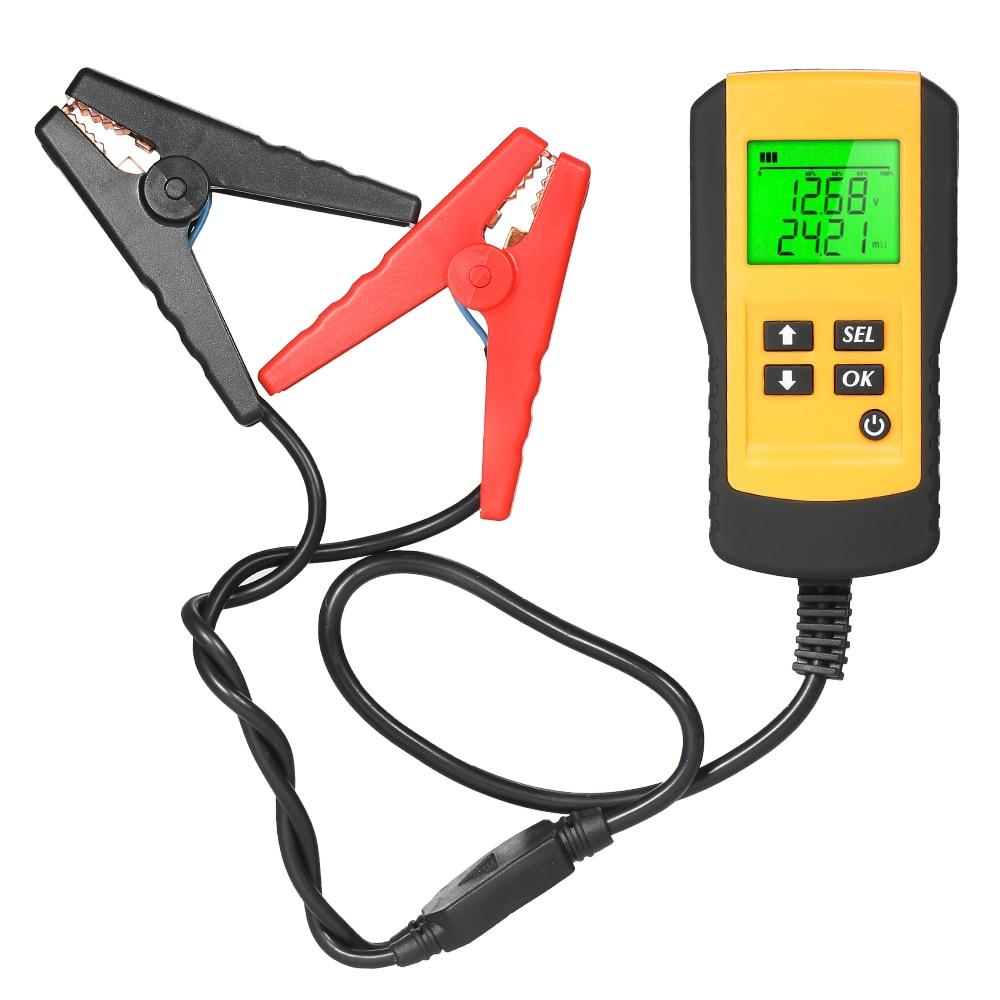 12V battery tester car detector Digital Car Battery indicator Analyzer Voltmeter for Automotive Vehicle Diagnostic Tester Tool hot sale digital car battery tester diagnostic tools micro 100 12v car capacity load tester analyzing