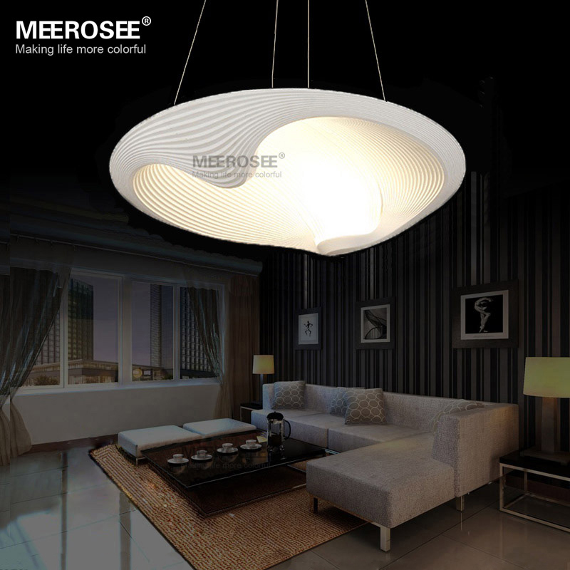 led pendant light fixture led lustre light fitting shell suspension lamp modern lighting for. Black Bedroom Furniture Sets. Home Design Ideas
