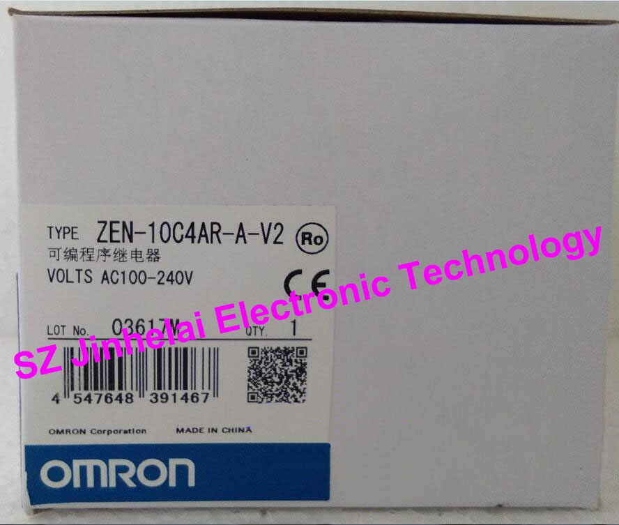 все цены на OMRON Programmable relay  ZEN-10C4AR-A-V2 New and original онлайн