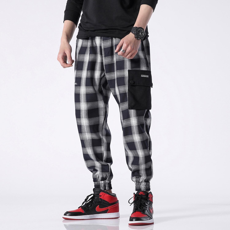 Hip 4xl Plaid Patchwork Black Modo Da red Streetwear Pantaloni Tuta Harem  green Pant Hop Della Uomo Di 5xl Casual Maschili nxXZwpI8qf 341ede42699c
