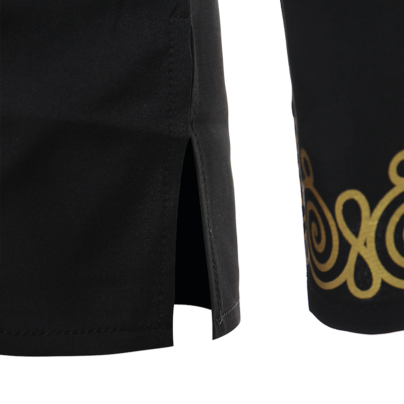 Hot 2018 Spring Men's T-shirt Tops Casual Fashion Ethnic Print Long-sleeved T-shirt Wholesale Men's Clothing (6)