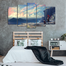 5 Pieces Canvas Prints Wall Painting Poster Modern Cartoon Canvas Art Pictures For Living Room Home Decor Abooly