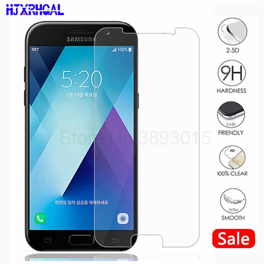 0.3mm Protection Glass On The For Samsung Galaxy A3 A5 A7 J3 J5 J7 2015 2016 2017 2018 Version Phone Glass Screen Protector Film