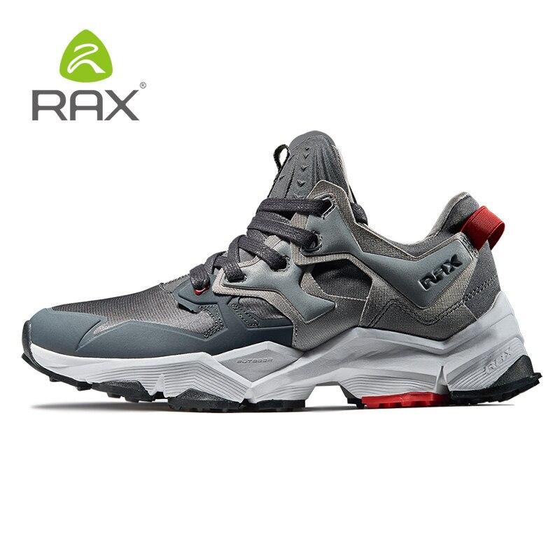 2018 RAX Homens Tênis Para Caminhada Tênis Para Caminhada Das Sapatilhas Dos Homens Das Sapatilhas Dos Homens de Esportes Ao Ar Livre Calçados Esportivos Sapatos de Corrida Atlético Formadores Homens