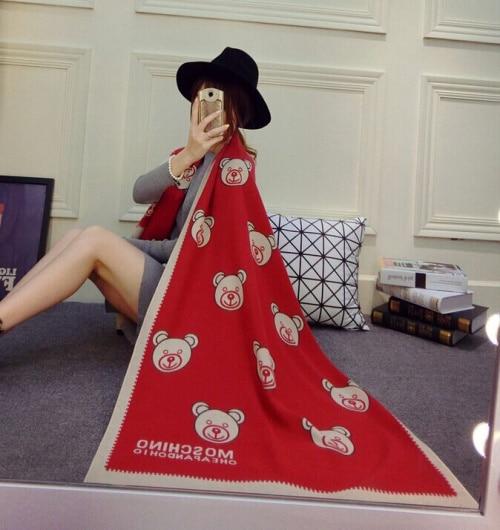 Winter Ladies Scarves WOMEN DRESS Fashion Scarf Women Shawl High Quality Woolen more than 300g Scarf