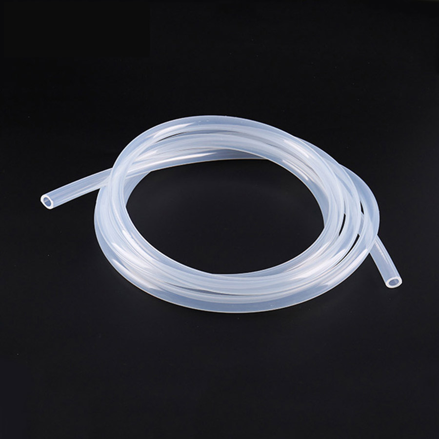 1-10Meters Food Grade Transparent Silicone Rubber <font><b>Hose</b></font> 4mm 5mm 6mm Inner Diameter Flexible Silicone Tube image