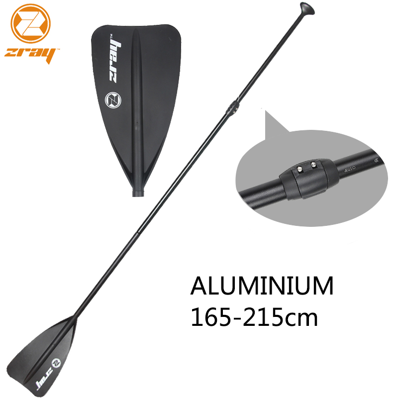 Z RAY 165-215cm SUP black extendable paddle oar SUP stand up paddle board for surfing board aluminium for inflatable boat shoulder bag carry bag for inflatable boat kayak sup board stand up paddle surfing board pump oar dinghy raft surf board a05011
