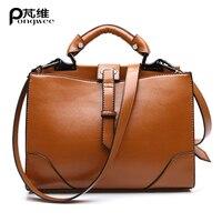 PONGWEE Women Handbag Luxury Bag Fashion Bag Handbag Women Famous Brand Italian Leather Bags Bolsos Feminina Women Shoulder Bags