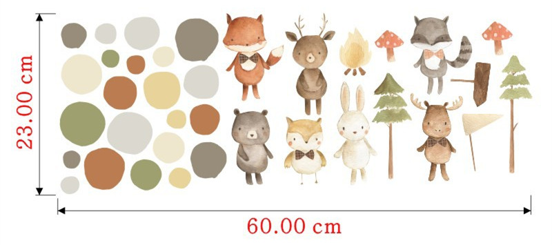 Animal lindo Arctic Fox Foto Wallpaper Mural Hogar Decoración Cuarto De Niños Niños