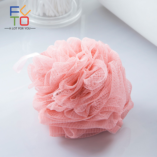 Large Bath Shower Sponge Pouf Loofahs 40g Each Eco Friendly Best Mini Loofah Poufs