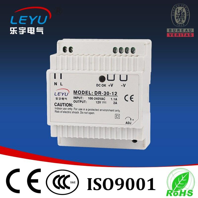 цена на 30w 12vdc din rail power supply for led DR-30-12