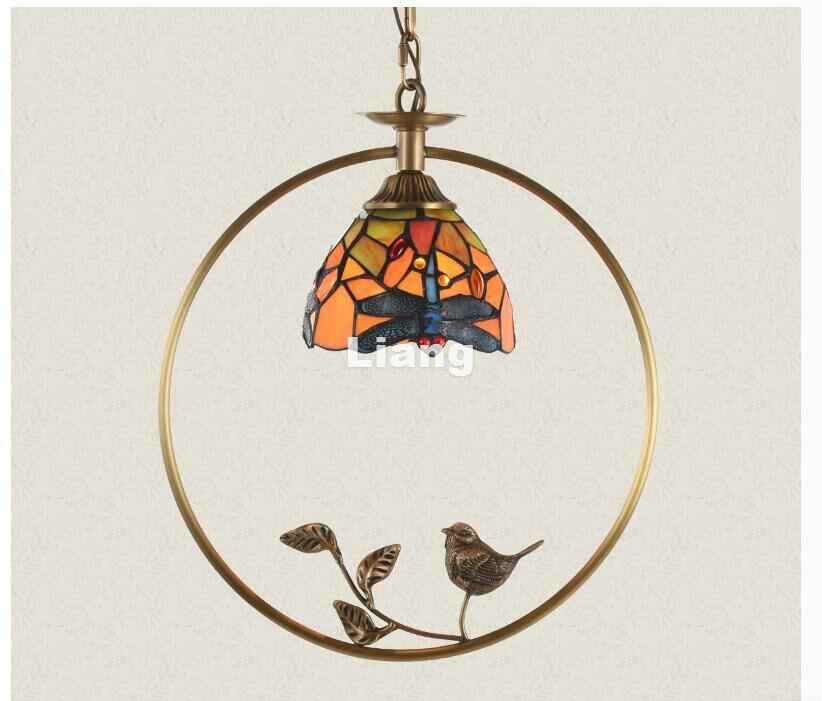 Free Shipping Brass Bird Nordic Pendant lamp Vintage Bird Countryside Pendant Light LED E27 110V220V AC Decoration Pendant Lamp modern 3l 5l 6l 8l 10l brass pendant lamp antique brass chandelier vintage total copper glass ac 100% guaranteed free shipping