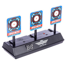 Electric Scoring Target For Toy Guns High Precision Scoring Auto Reset Blaster Water Soft Bullet Toys For Boys Gun Accessories