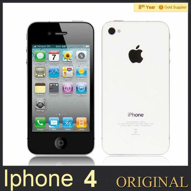 4591dfb3c Iphone 4 3 G GPS 3.5 '' táctil Original del teléfono celular de APPLE A4