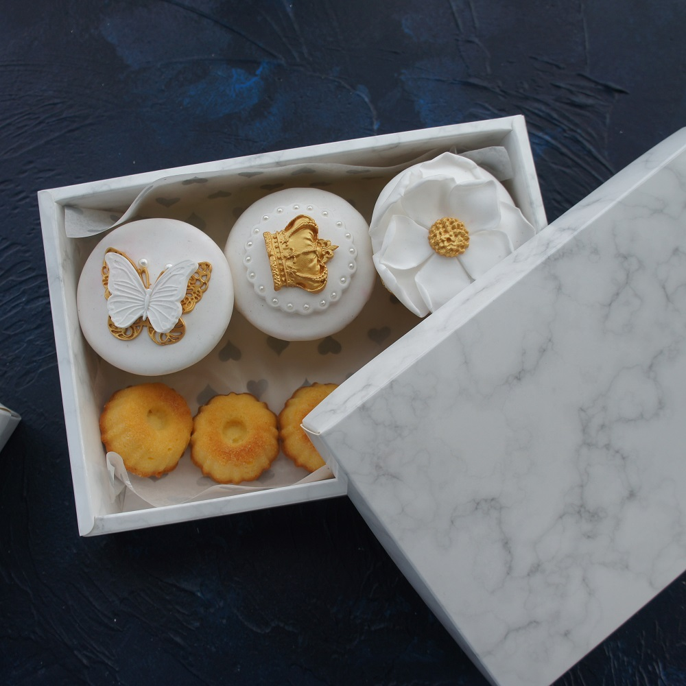 wedding : high quality 21 14 5cm 10pcs marble design chocolate Paper Box wedding party cookie candy Macarons Snacks Packing Storage Boxes