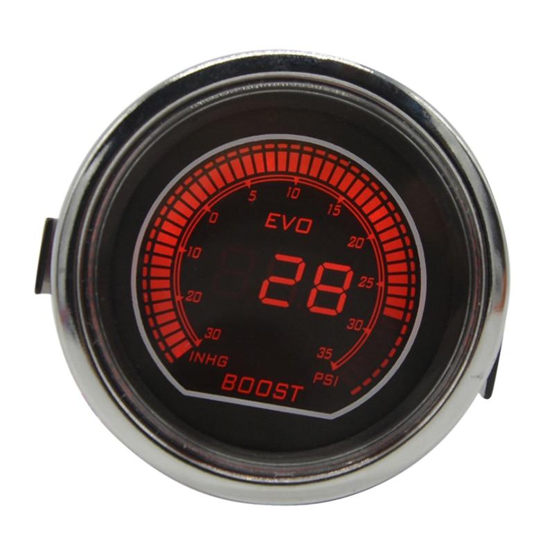 Naga gauge Putih Shell Lensa Asap 52mm Auto Mobil Turbin Minyak - Suku cadang mobil - Foto 2