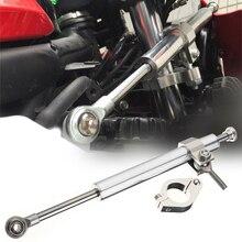 Universal 1pc 330mm Motorcycle Aluminum Steering Damper Stabilizer For All Race Bikes Kawasaki Ducati Suzuki