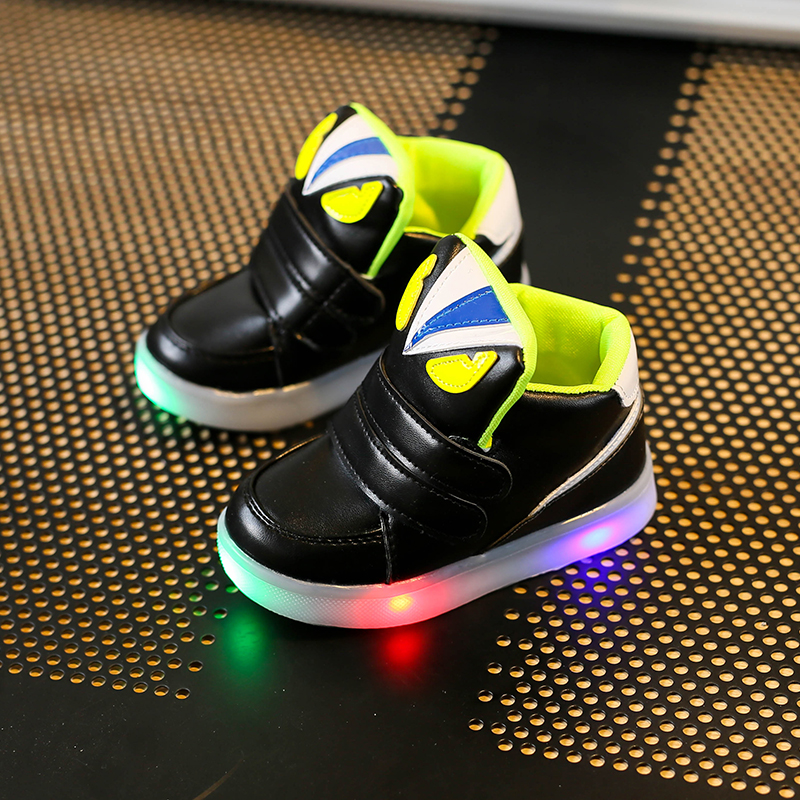 Children-Shoes-With-Light-Chaussure-Led-Enfant-Spring-Autumn-New-Cartoon-Led-Girls-Shoes-Sports-Breathable-Boys-Sneakers-Shoes-3