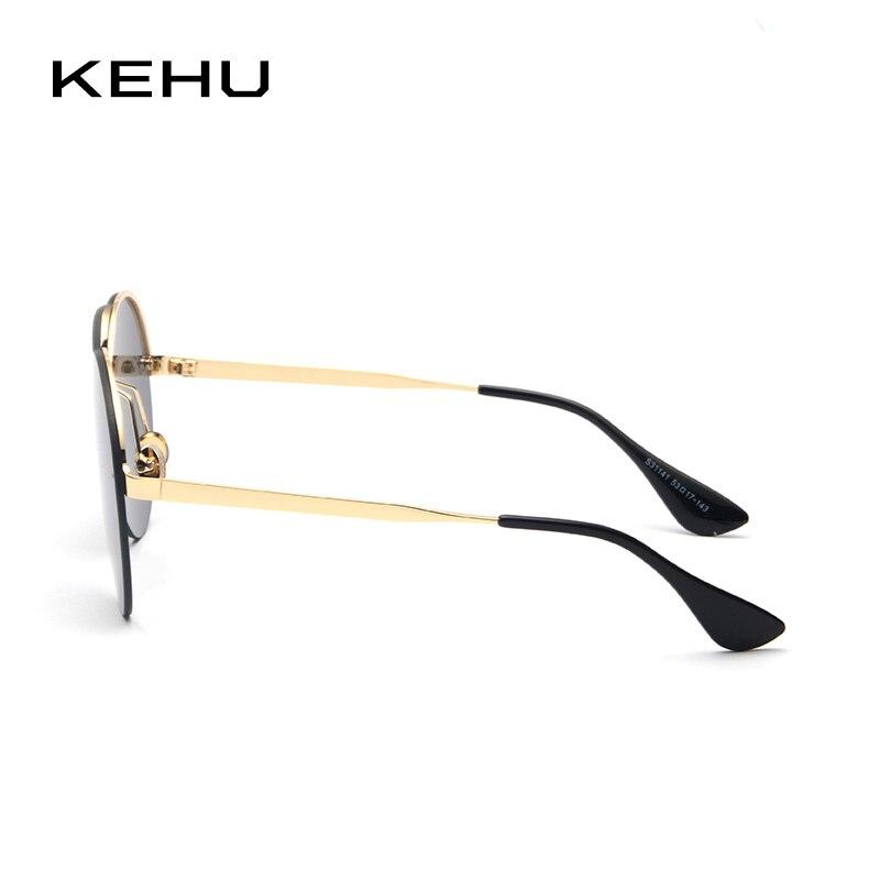 KEHU Neue Mode Pilot Sonnenbrille Frauen Legierung Rahmen Gläser ...