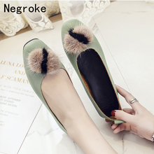 New Women Flats Summer Autumn Office Lady Weekends Shoes Woman Slip On Loafers Flat Heel Shallow Driving Plus Size